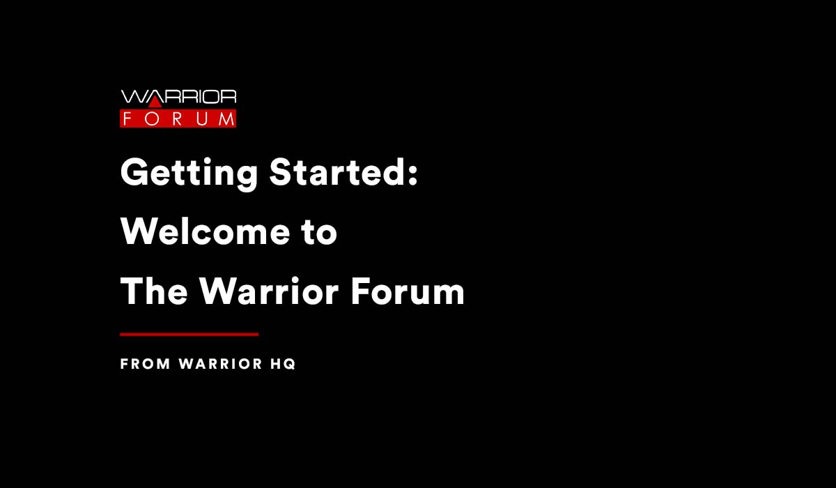 Featured image for Welcome to the Warrior Forum